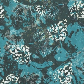 Woodland floor (blue)