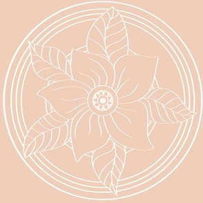 White_Bohemian_Flower_outline_on_Pale_pink