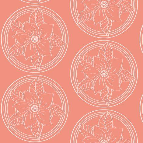 Rrwhite_bohemian_flower_outline_on_salmon_shop_preview