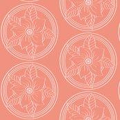Rrwhite_bohemian_flower_outline_on_salmon_shop_thumb