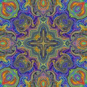 Scribble Tile 8