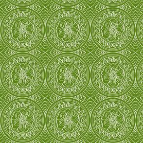 White_Bohemian_outline_on_Green