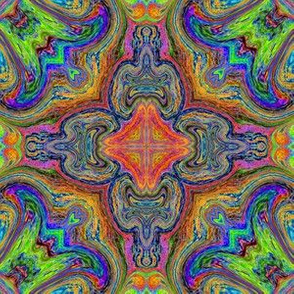 Scribble Tile 9