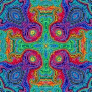 Scribble Tile 16