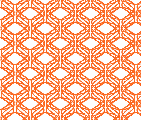 Organic Trellis fabric by scarlette_soleil on Spoonflower - custom fabric