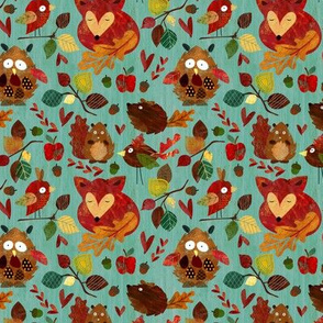 Autumn Leaves (mini size)