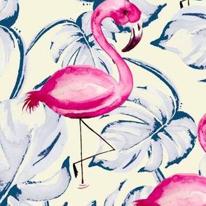 Pink Flamingo Paradise