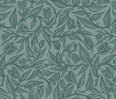 Velvet Forrest by Sean Martorana fabric by seanmartorana on Spoonflower - custom fabric