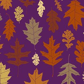 Leaf Peeping - Aubergine
