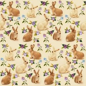 Bunnies Garden Caramel