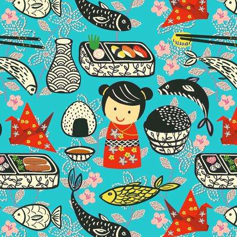 Oiishi-So! fabric by susan_polston on Spoonflower - custom fabric