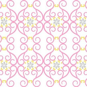 Pink Swirls with Grey and Yellow-ch-ch