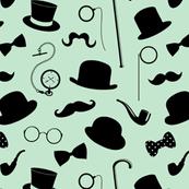 Gentlemanly Attire // Light Green
