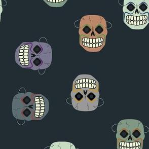 vintage skull masks
