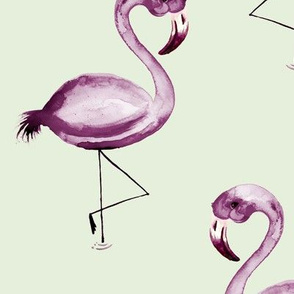 Plum Flamingo Flaunt
