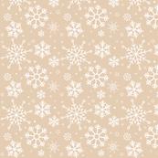 Merry Snowflakes-Tan