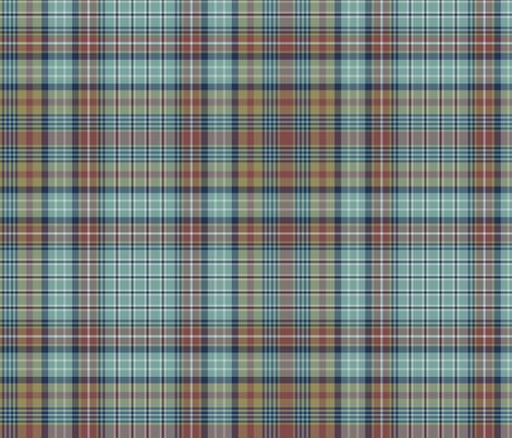 Ogilvie tartan - Heriz palette fabric by weavingmajor on Spoonflower - custom fabric