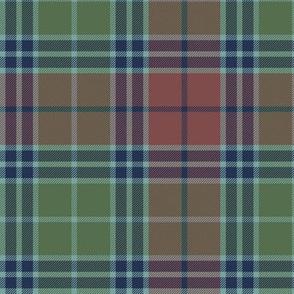 Stevenson old tartan - Heriz palette