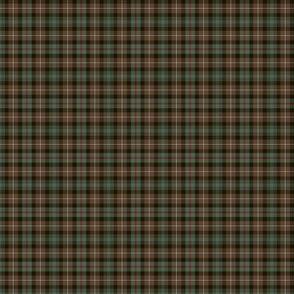 """Mackenzie tartan, weathered 1.5"""" (1:4 scale)"""