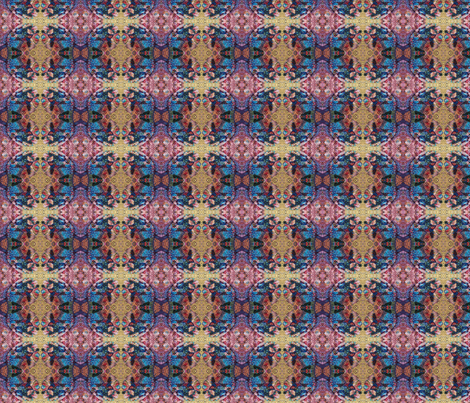 mosaic fabric by milesofjoystudio on Spoonflower - custom fabric