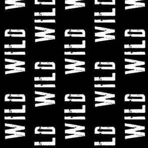 WILD // black (90)