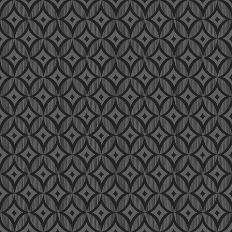 Boldly Mod (Gray) fabric by robyriker on Spoonflower - custom fabric