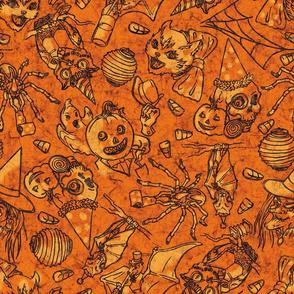 Halloween Soiree Batik