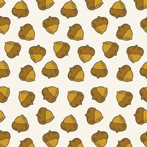 Acorns - Ivory
