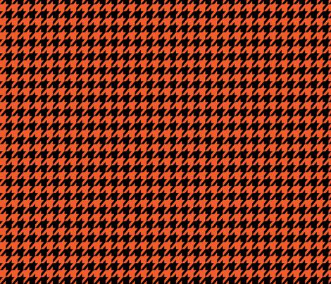 Halloween Houndstooth fabric by mariafaithgarcia on Spoonflower - custom fabric