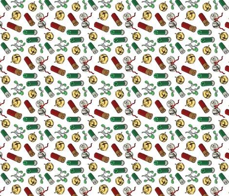 Jingle_bells_shotgun_shells_mistletoe_tea_towel_shop_preview