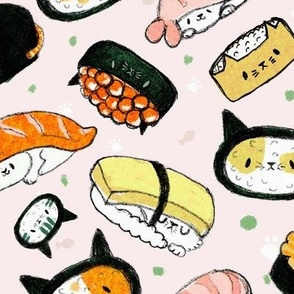 kawaii kitty sushi