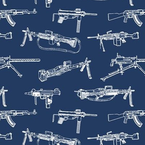 Machine Guns on Navy // Small