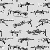 Machine Guns // Light Grey