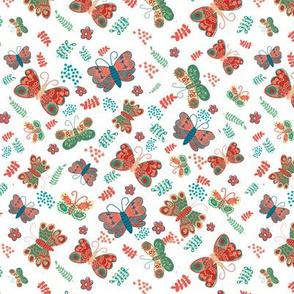 Folksy Butterflies