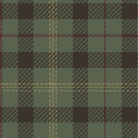 Paton family tartan, traditional colors greyed fabric by weavingmajor on Spoonflower - custom fabric