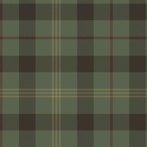 Paton family tartan, traditional colors greyed