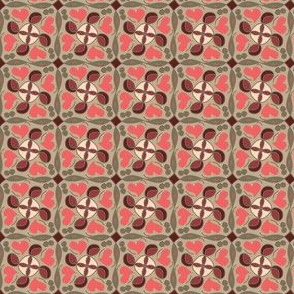 heart in indian red