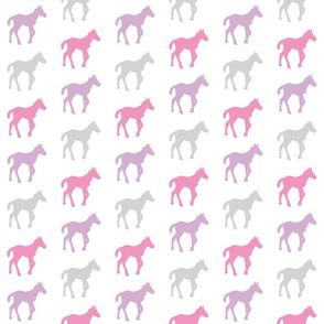 little horses - purple mist