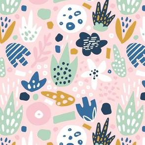 tender floral pattern