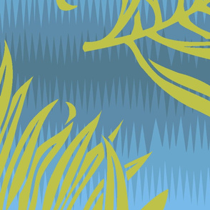 Fern Leaf Blue