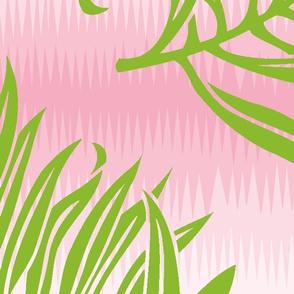 Fern Leaf Pink