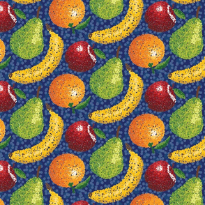 Pointillism_Fruit