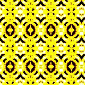Reflection-black and yellow