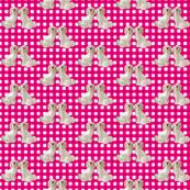 Staffordshire Dog - Pink
