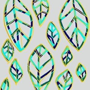 Fractal Leaf Lines