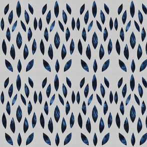 abstract indigo pattern