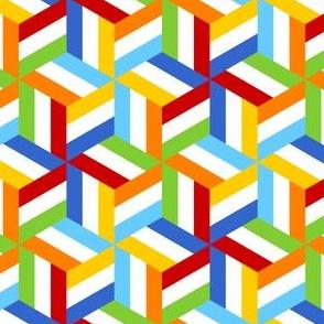 06759489 : trombus in 3 : rainbow flags