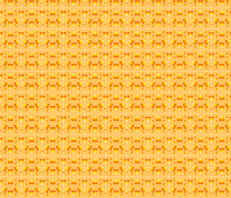 candy_corn fabric by hello_hello_hi on Spoonflower - custom fabric