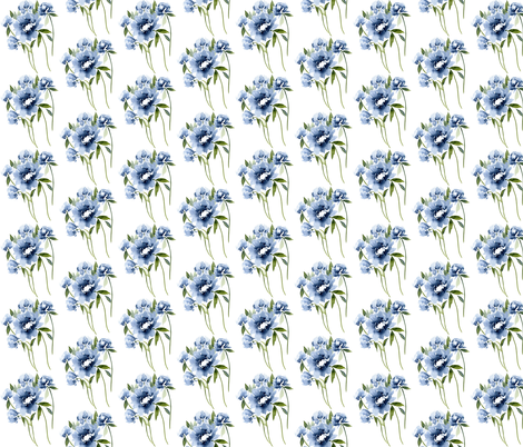 In the Navy fabric by sweetseasonsart on Spoonflower - custom fabric