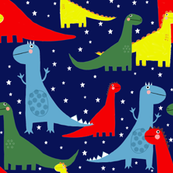 Nocturnal dancing dinosaurs